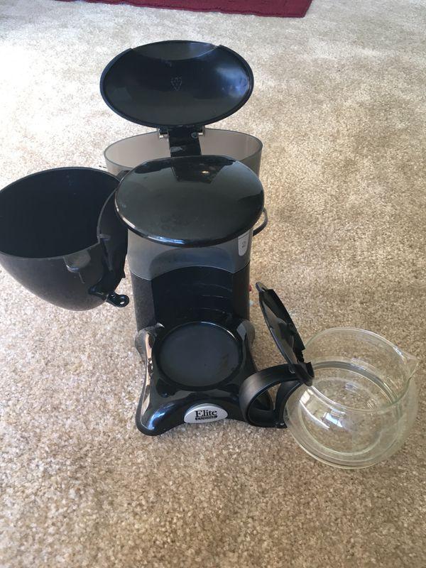 Elite Cuisine coffee maker