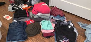 Clothes size small and medium and some large different prices for Sale in Santa Clara, CA