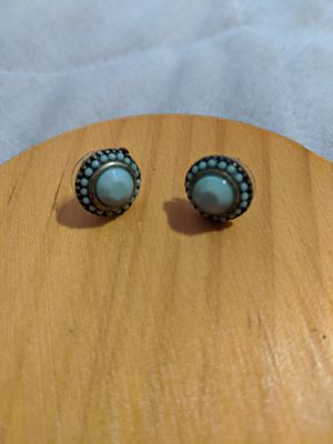 Turquoise circle earrings for Sale in Washington, DC