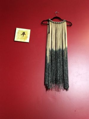 Fringe dress / 50s flapper Halloween costume for Sale in Levittown, NY