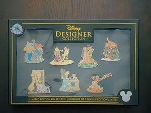 Disney Designer Collection Pin Set (7-pc.) for Sale in Boston, MA