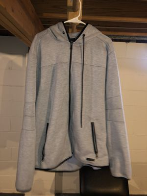 Fall- Autumn, Gray Zip Up Hooded Jacket for Sale in Reynoldsburg, OH