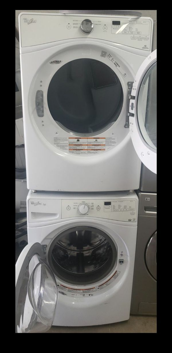 WHIRPOOL DUET WASHER AND DRYER SET