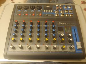 8 channel portable mixer con Bluetooth for Sale in Las Vegas, NV