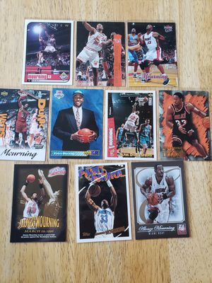 Alonzo Mourning Heat Hornets NBA basketball cards for Sale in Gresham, OR