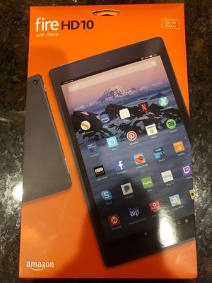 Kindle Fire HD 10 with Alexa for Sale in Maricopa, AZ