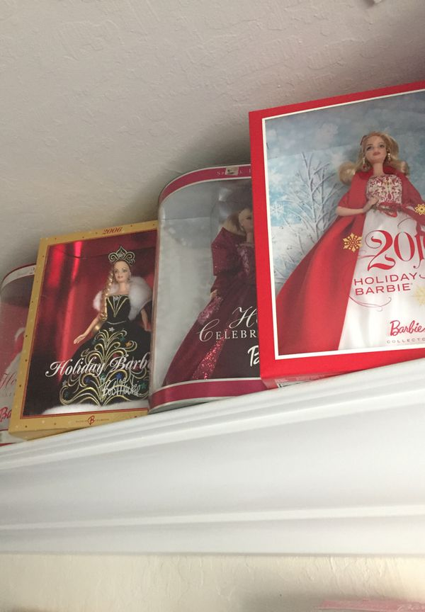 Holiday Barbie Collectibles
