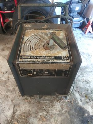 230 Amp Welder/Buzz Box/ Sears Craftsman for Sale in Hudson, FL