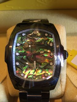 Invicta Grand Lupah Abalone Dial Watch Steel Bracelet for Sale in Norwalk,  CA