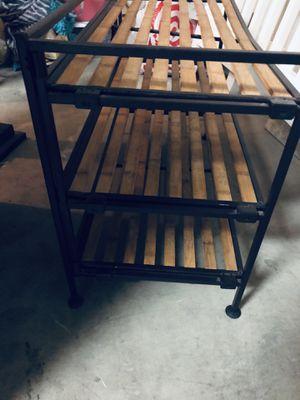 Wooden metal shelve for Sale in Gilbert, AZ