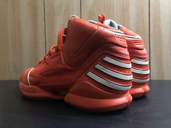Adidas Derrick Rose 2.5 Orange All Star size 9.5