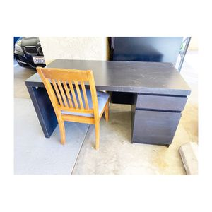 Back Desk With Drawer & Shelves for Sale in Rancho Palos Verdes, CA