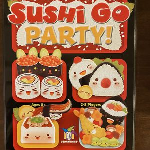 Gamewright Sushi Go Party! - The Deluxe Pick & Pass Card Game, Multicolored for Sale in Artesia, CA