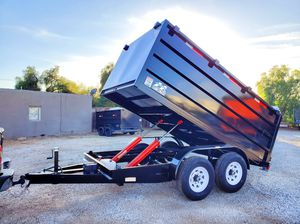 12ft HD Dump Trailer 14k for Sale in Bloomington, CA