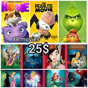 44 kids movies on usb flash drive for Sale in Lakewood, CA