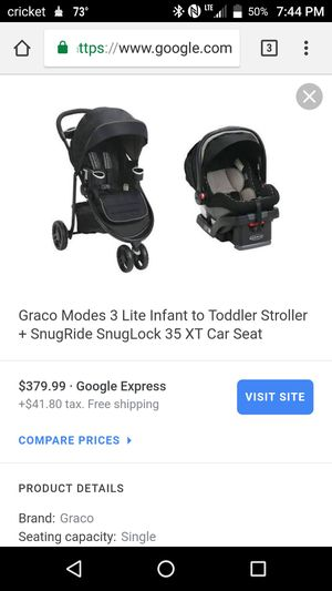 Graco Stroller 3 Lite Travel system for Sale in San Diego, CA