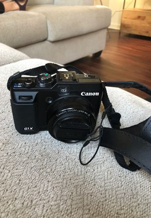 Canon PowerShot G1 X 14.3 MP CMOS Digital Camera, Used for Sale in Austin, TX