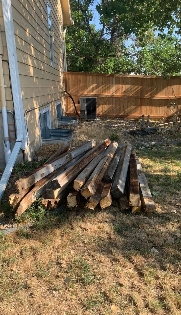 Recycled 4x4 lumber