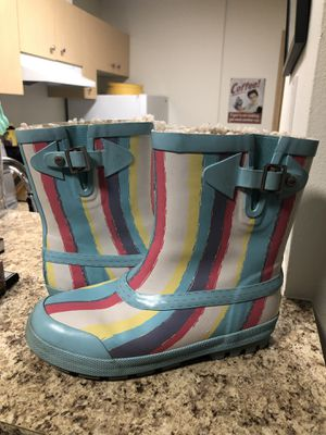 •LOW PRICE MOVING• $179 RETAIL UGG RARE FUR LINED RAIN BOOTS for Sale in Mercer Island, WA