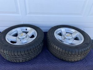 Very rare Set of Wheels from Chevy Tahoe Limited for Sale in San Leandro, CA