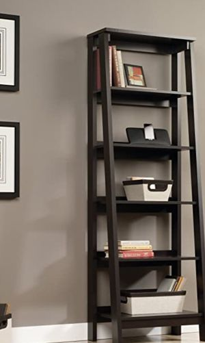 New!! Bookcase, bookshelves, organizer, 5 shelf bookcase, storage unit, living room furniture, entrance furniture, shelving display , Jamocha wood f for Sale in Phoenix, AZ