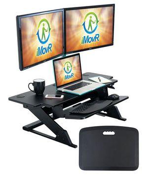 IMovR ZipLift+Standing desk convertor for sale. for Sale in Littleton, CO