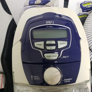 ResMed VPAP S Cpap with Tubes and Mask and manual for Sale in Katy, TX