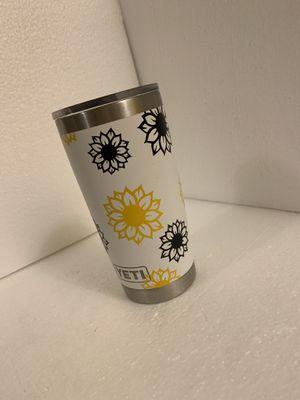 Custom sunflower yeti for Sale in Windsor, PA