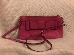 Kate Spade Pink Fuschia Bow Tie Leather Crossbody Purse for Sale in Phoenix, AZ