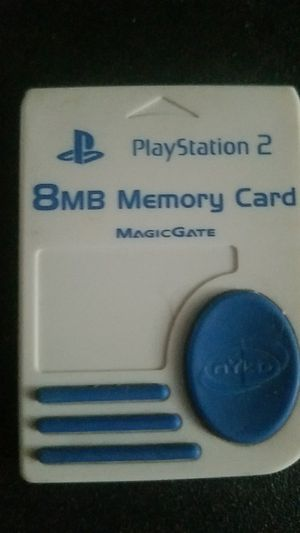 Playstation 2 ps2 memory card for Sale in Columbus, OH