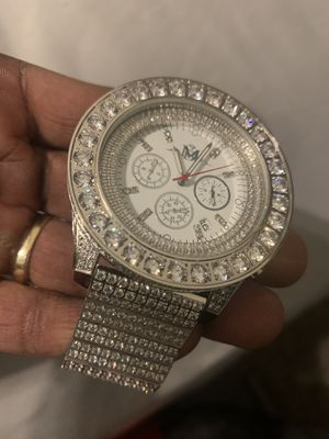 Master of Bling diamond watch for Sale in Arlington, TX