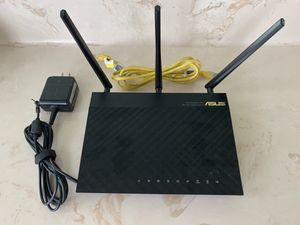 ASUS Dual Band 3x3 802.11AC 4-Port 2 USB Wireless-AC1750 Gigabit 5G WiFi Router for Sale in Fort Lauderdale, FL