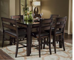 Dining Table with one Bench and 2 chairs for Sale in Hialeah, FL