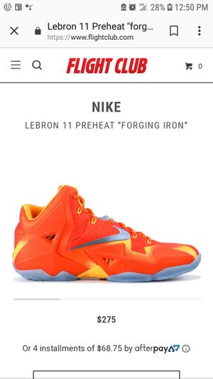 """Labron 11 """"Preheat"""" for Sale in Columbus, OH"""