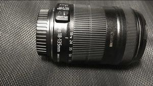 Canon EFS 18-135 camera lens just a little dusty was never really used so like new for Sale in North Las Vegas, NV