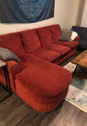 Red sectional for Sale in Nashville, TN