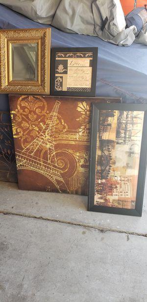 Wall decorations for Sale in Escalon, CA