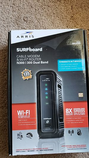 ARRIS Surfboard Cable Modem & WiFi Router for Sale in Columbia, SC