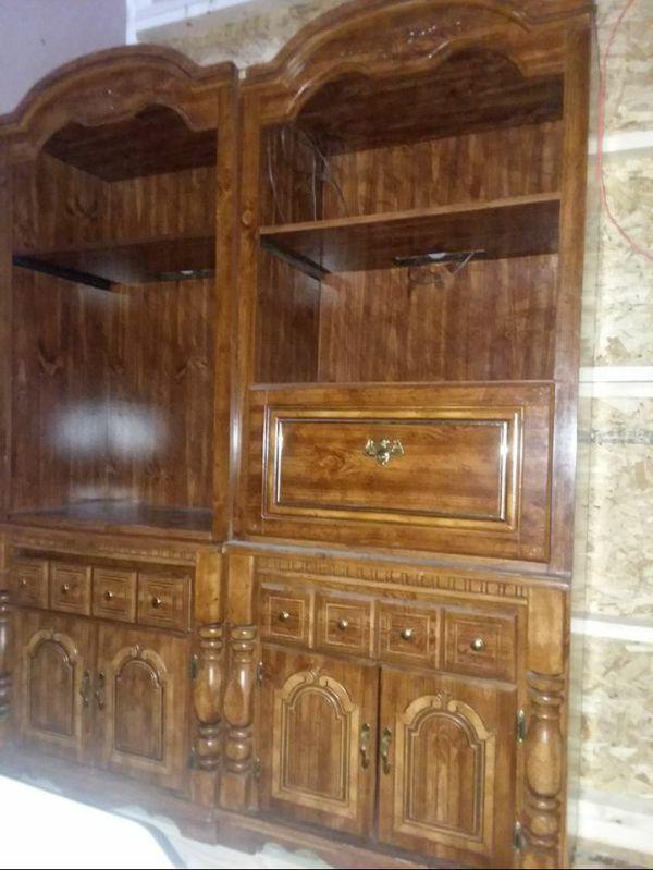 Office style bookshelves
