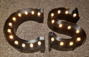 Metal Marquee Letters for Sale in Chicago, IL