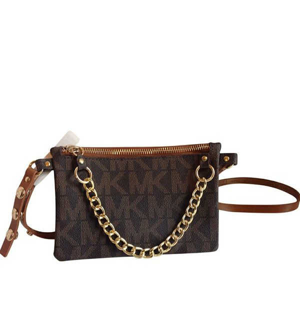 Michael Kors Logo Belt Waist Bag Fanny Pack