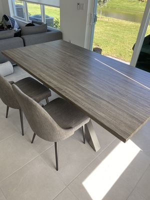 Dining Table, two shair and Bench for Sale in Pompano Beach, FL