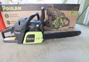 Brand new poulan chainsaw for Sale in Fort Pierce, FL