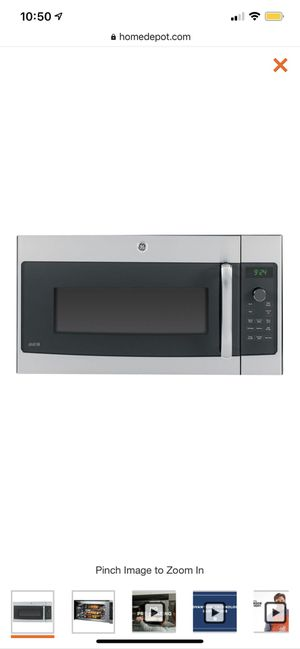 Brand New - GE Profile 1.7 cu. ft. Over the Range Speed Cook Convection Microwave in Stainless Steel for Sale in Chesterfield, MO