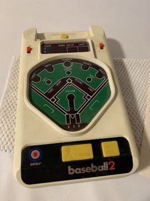 Original Handheld Baseball Video Game | Baseball2 | with Instruction Manual for Sale in Seattle, WA