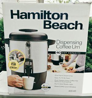 Hamilton Beach Dispensing Coffee Urn for Sale in Nutley, NJ