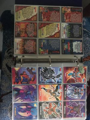 Binder full of Marvel and dragonball Z cards for Sale in Oldsmar, FL