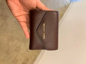 Michael Kors Burgundy Wallet for Sale in Washington, DC