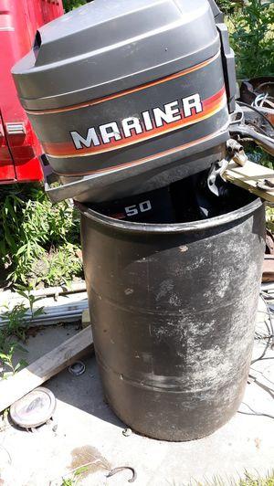 Mariner 50 hp boat motor for Sale in Minerva, OH