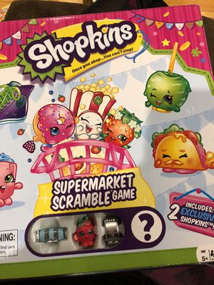 Shopkins Supermarket Scramble Game for Sale in New Market, MD